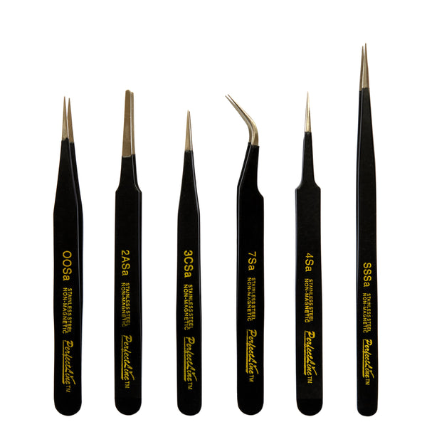 TOOL34 - 6 Piece Professional Tweezer Set