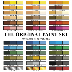 The Original Paint Set
