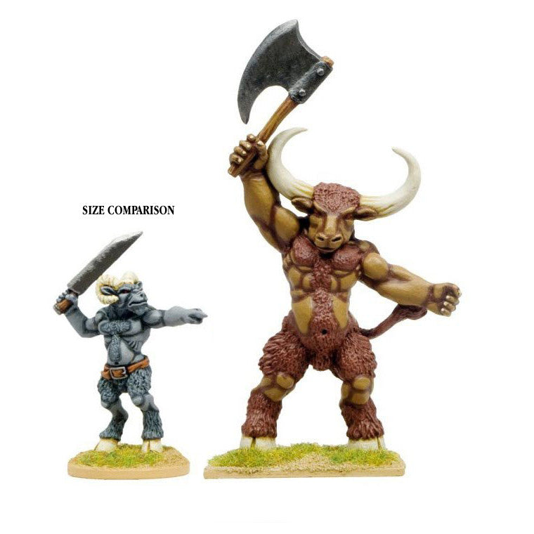 BSBM001 - Giant Minotaur with Axe
