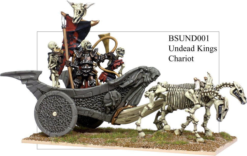 BSUND001 - Undead Kings's Chariot