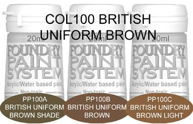 COL100 - British Uniform Brown