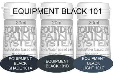 COL101 - Equipment Black