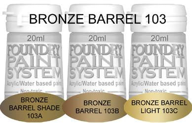 COL103 - Bronze Barrel