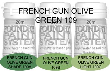 COL109 - French Gun Olive Green