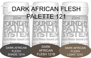 COL121 - Dark African Flesh
