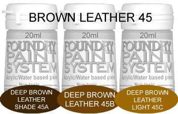 COL045 - Deep Brown Leather
