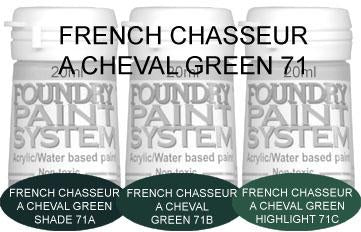 COL071 - French Chasseur A Cheval Green