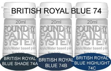 COL074 - British Royal Blue