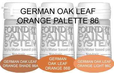 COL086 - German Oak Leaf Orange