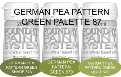 COL087 - German Pea Pattern Green