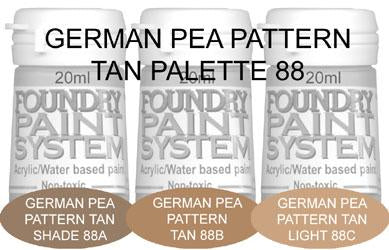 COL088 - German Pea Pattern Tan