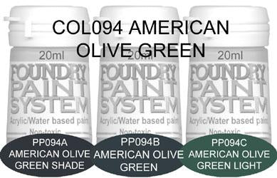 COL094 - American Olive Green