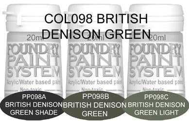 COL098 - British Denison Green