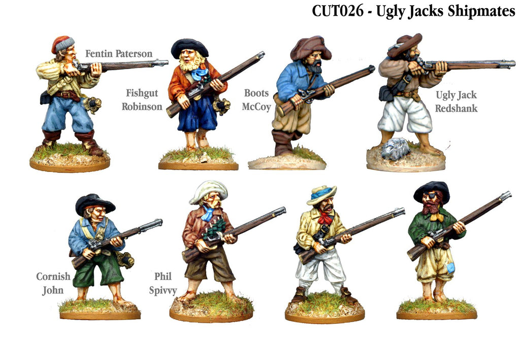 CUT026 - Ugly Jacks Shipmates