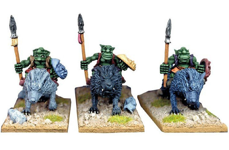 GOB020 - Goblin Wolf Riders with Spears 1