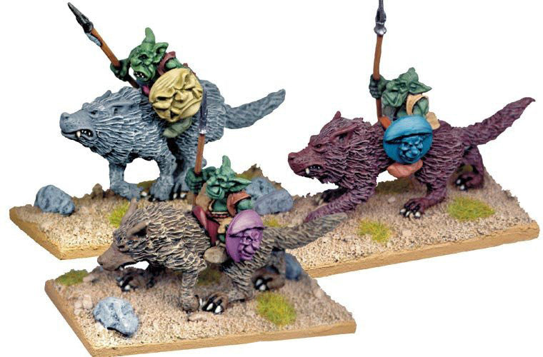 GOB021 - Goblin Wolf Riders with Spears 2