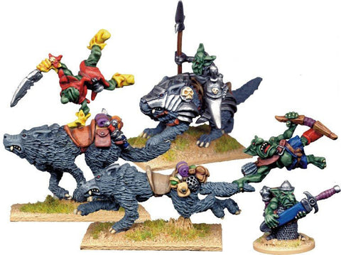 GOB024 - Goblin Wolf Rider Characters
