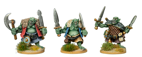 GOBEX3 - Goblin Extremists With Hand Weapons