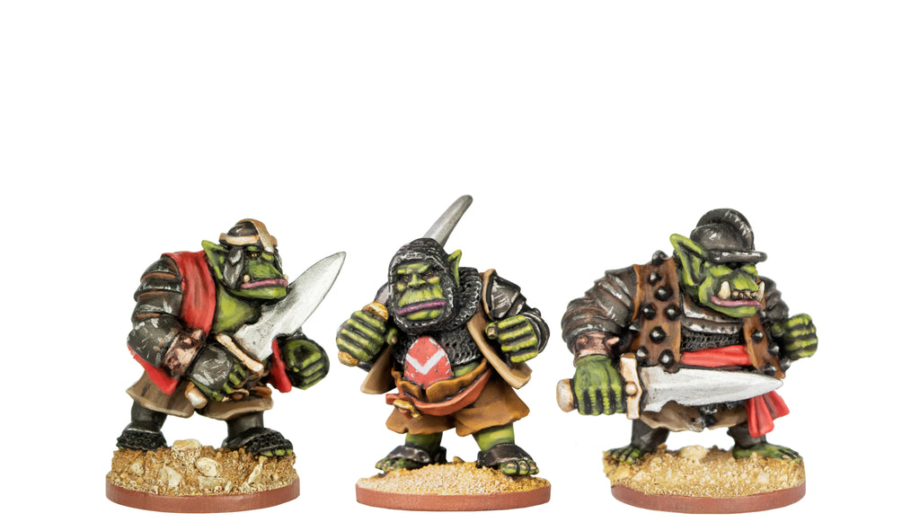 ORCP502 - Armoured Orcs With Swords