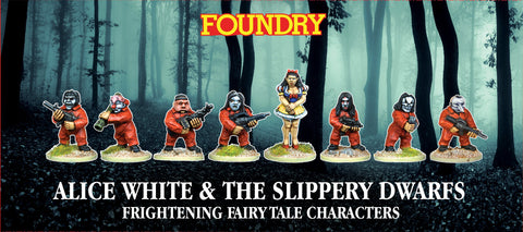FC11 - Alice White & The Slippery Dwarves PRE-ORDER