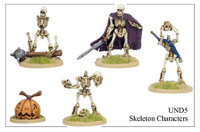 UND005 - Skeleton Characters