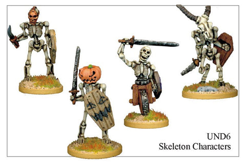 UND006 - Skeleton Characters 2