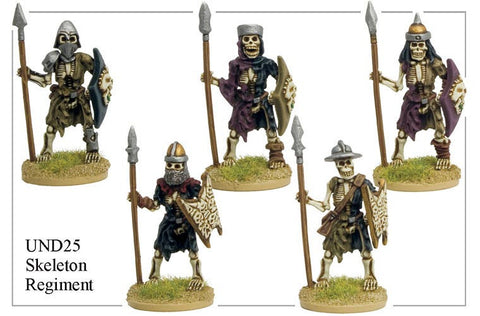 UND025 - Skeleton Regiment