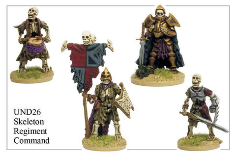 UND026 - Skeleton Regiment Command