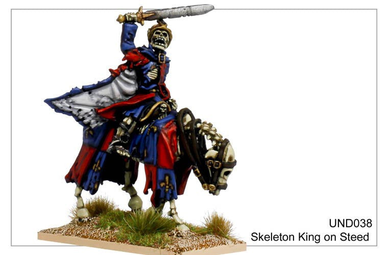 UND038 - Mounted Skeleton King