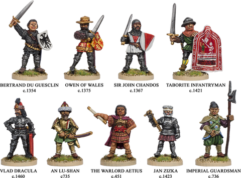 WA006 - Medieval Warlords/Old Citadel Blandford Warriors
