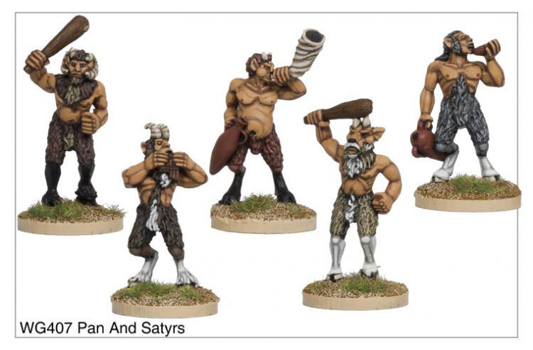 WG407 - Pan and Satyrs