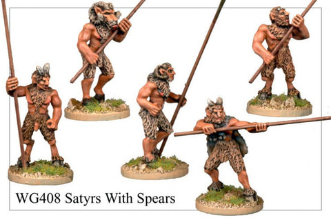 WG408 - Satyrs with Spears