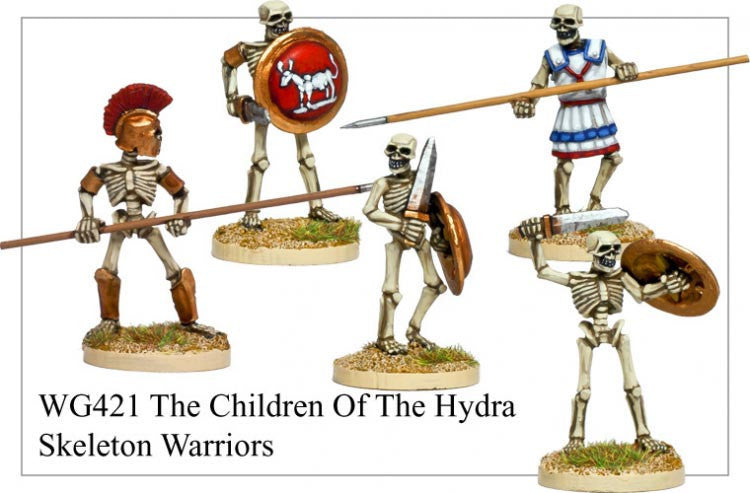 WG421 - Skeleton Warriors: Children of the Hydra 1