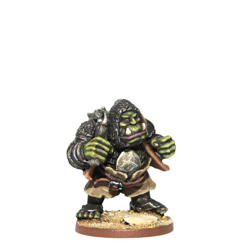 ORCP504 - Armoured Orc With Flail