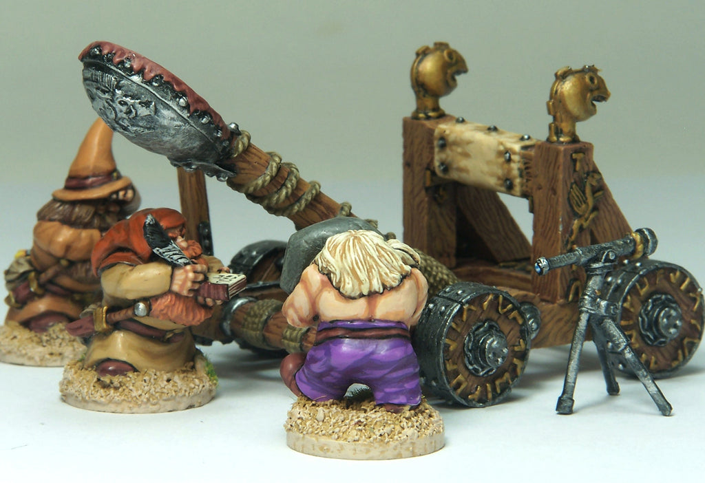 ND18 - Dwarf Stone Thrower And Crew