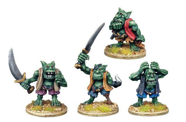 GOB004 - Goblin Characters with Hand Weapons
