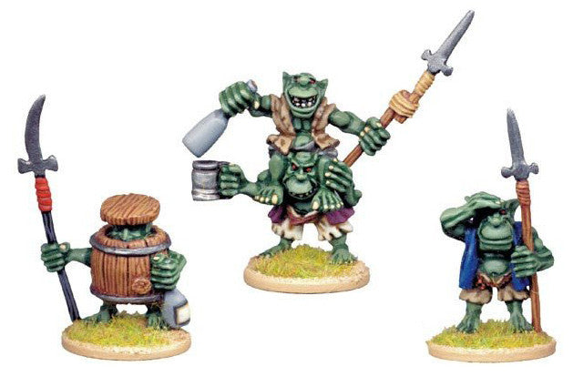 GOB006 - Goblin Characters with Spears