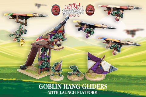 FC013 - Goblin Hang Gliders With Launch Platform