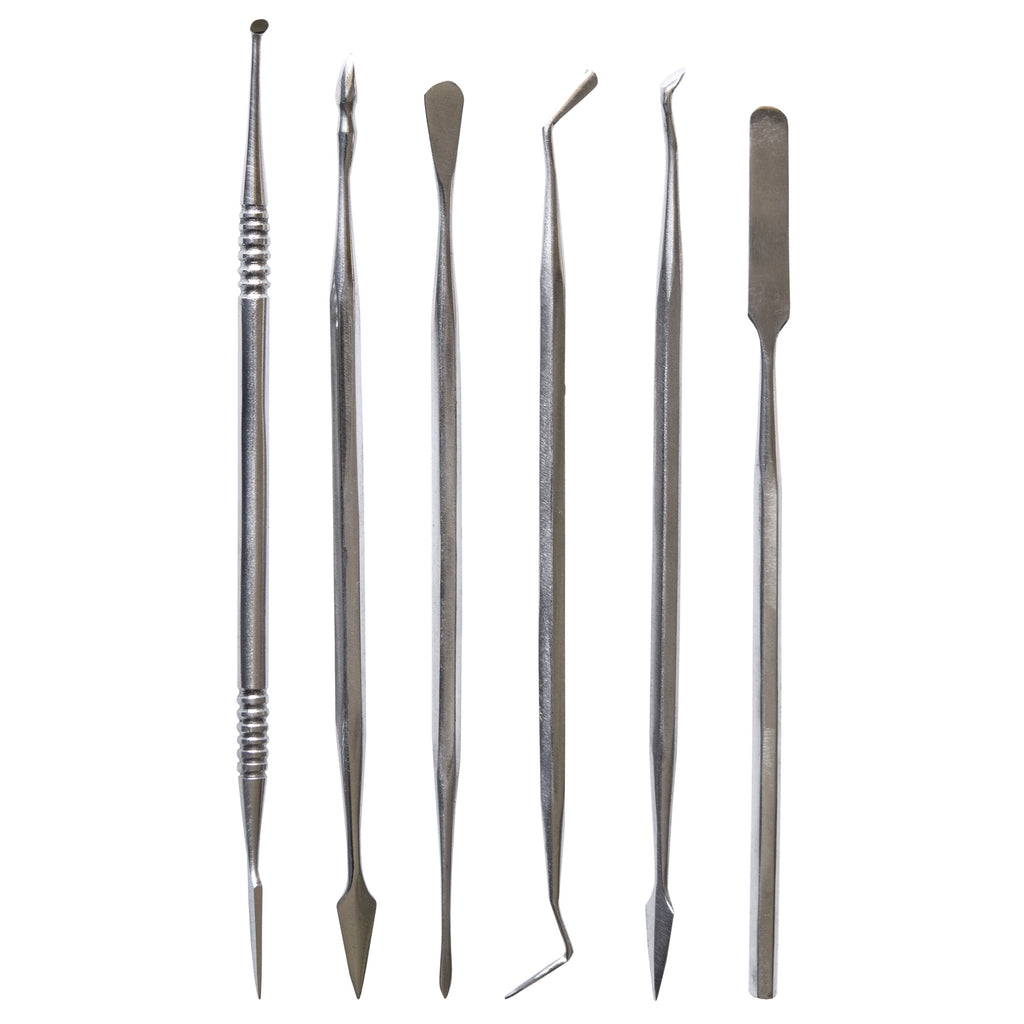 TOOL32 - 6 Piece Stainless Steel Carver Set
