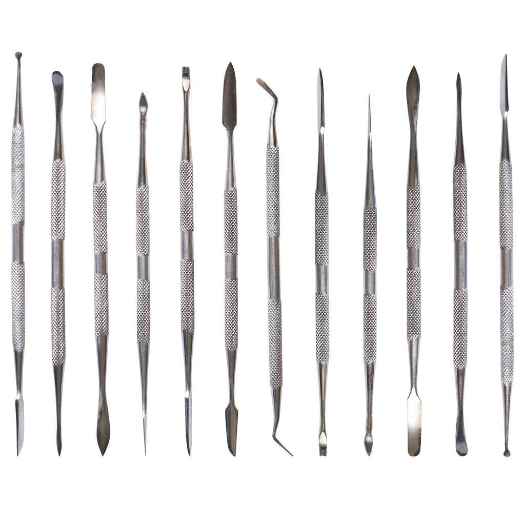 TOOL33 - 12 Piece Stainless Steel Carving Set