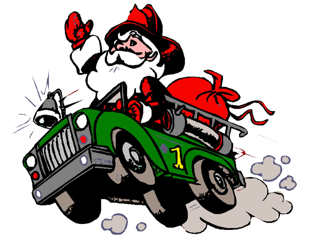 Santa is Coming to the Firehouse December 6th