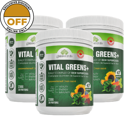 3 Bottles of Vital Greens+