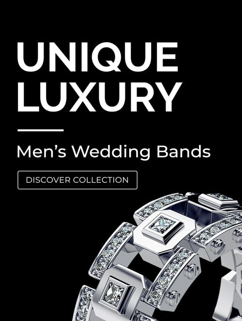 Mens Wedding Bands Collection 2018 made in new york