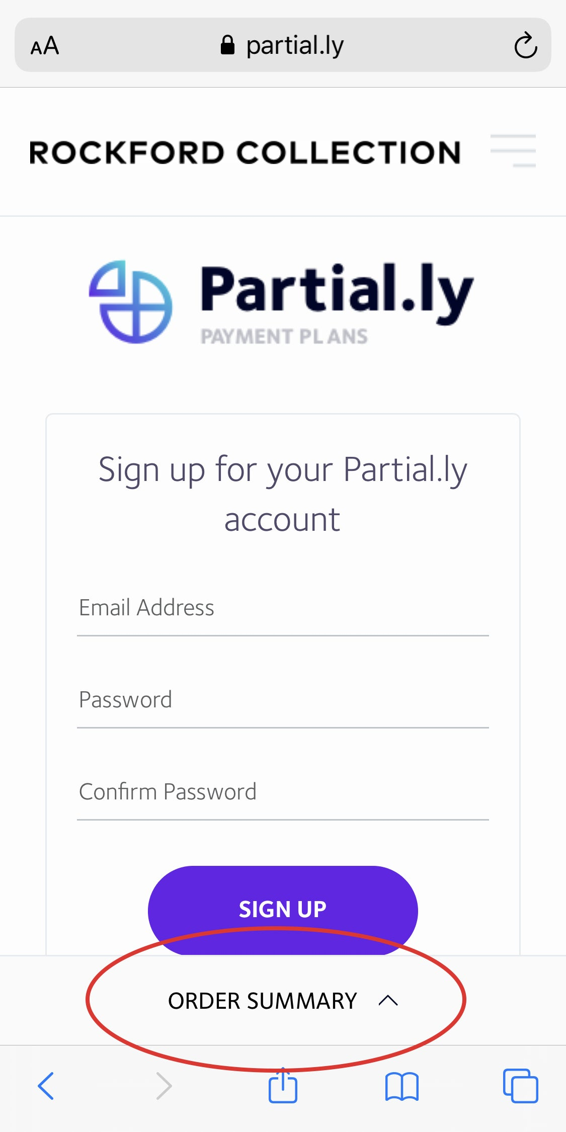 partial.ly mobile discount code