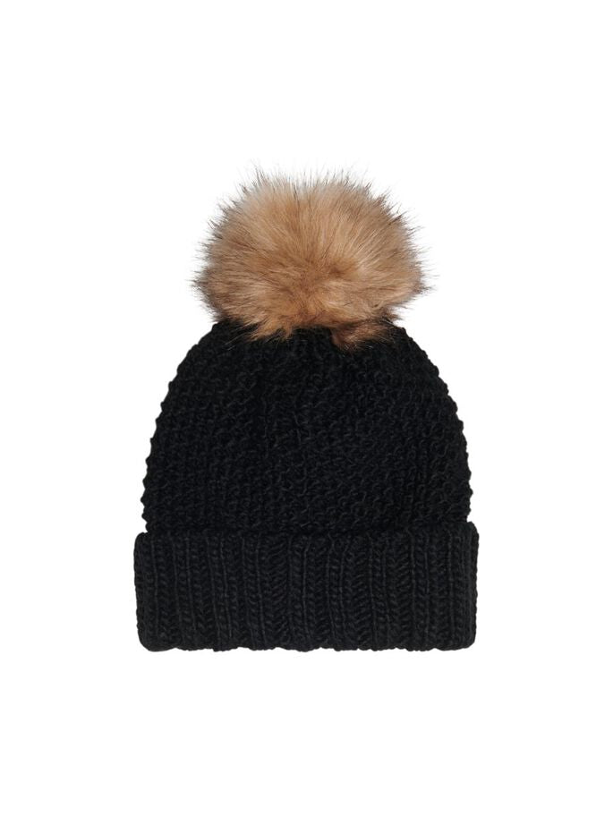 ONLY KIDS - Muts Pompom - Zwart - Art.Code: 44468581