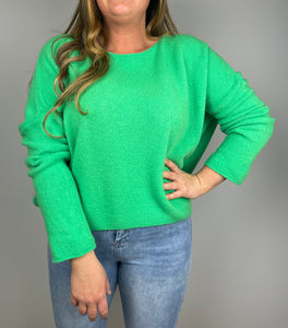 OVERSIZED KNIT MEGAN -  GROEN - 44470989