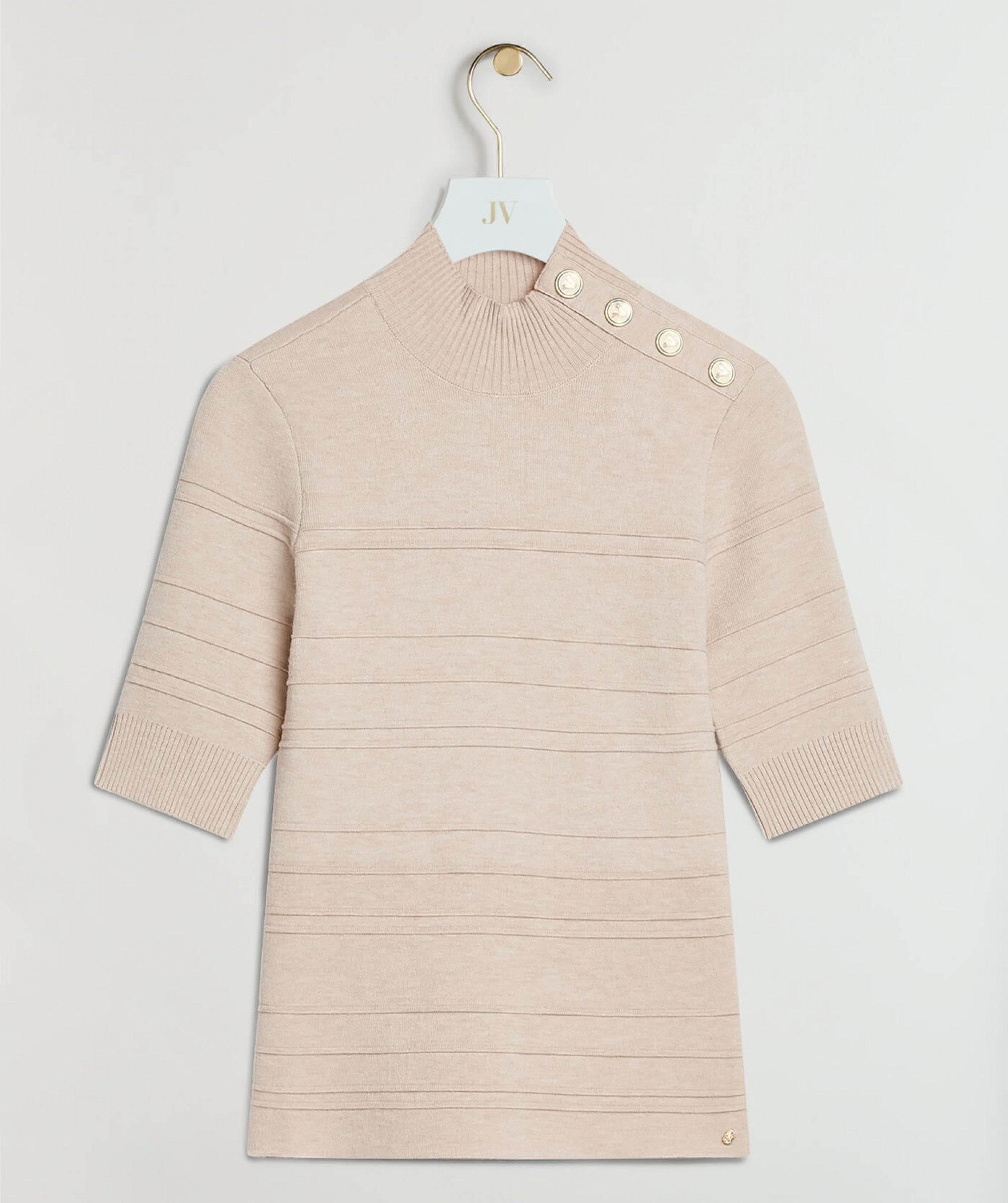 JOSH V - High Neck Knit Soleste - Beige - Art.Code: 44468618