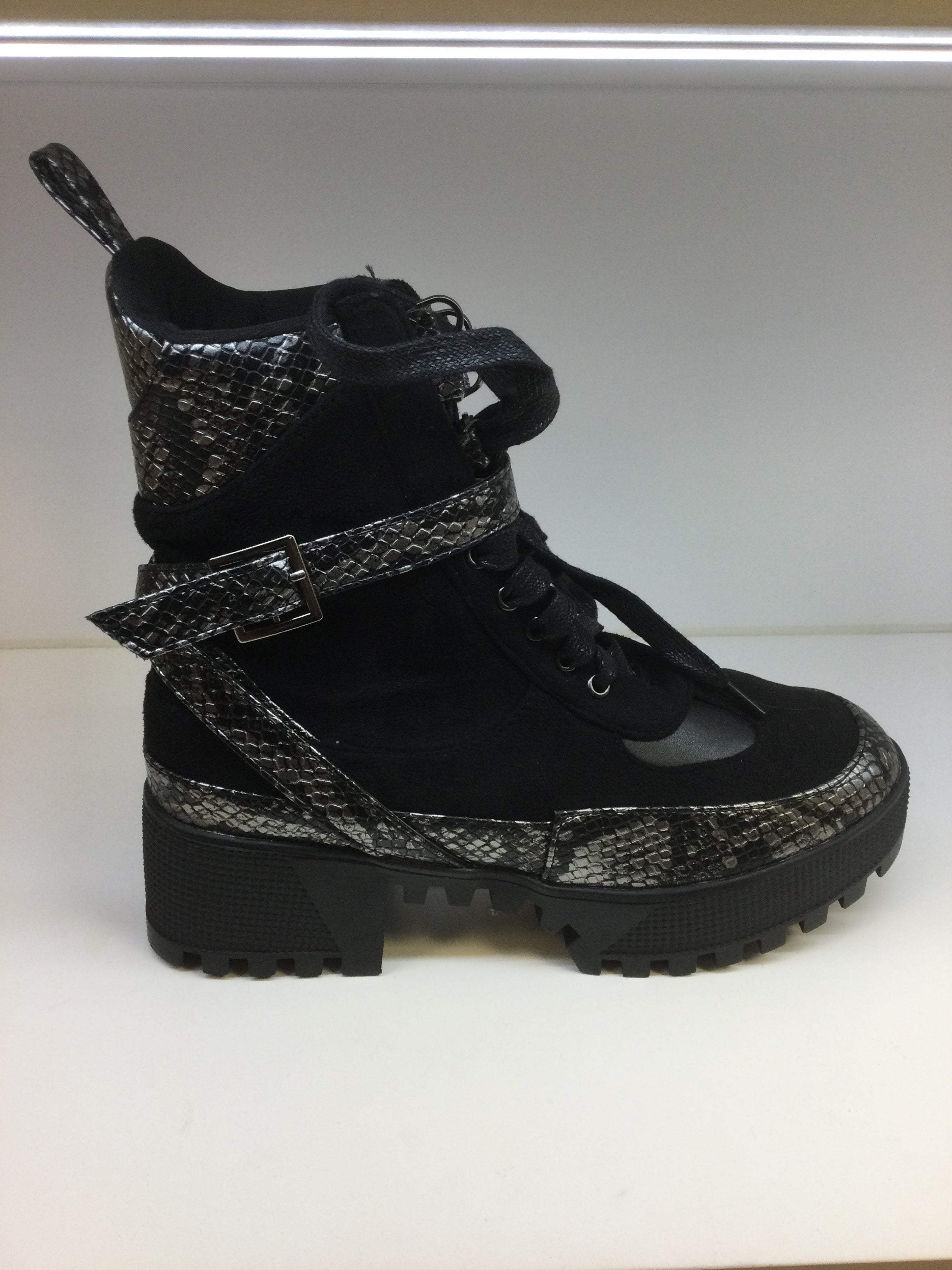 BOOT SNAKE PRINT - ANTRACIET - 44463592