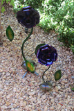 Metal Garden Flowers Set of 2