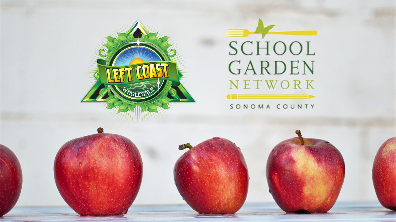 Left Coast Teams Up With The School Garden Network